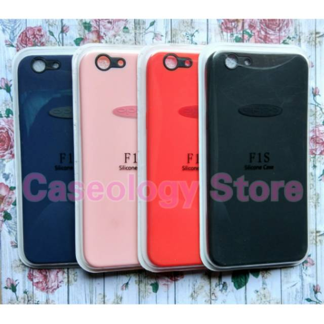 OPPO F1S A59 A1601 SOFT KARAKTER FREE TEMPERED GLASS CASE OPPO F1S CASE F1S A59 CASE