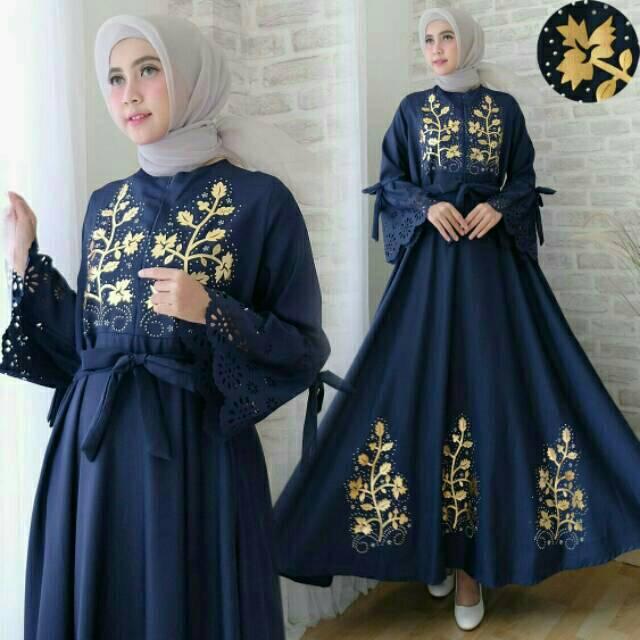 Gamis Syari Busui Bumil - Gamis Pesta Jumbo - M to XL - XXL - Adem - Baju Kondangan Muslimah Jumbo | Shopee Indonesia