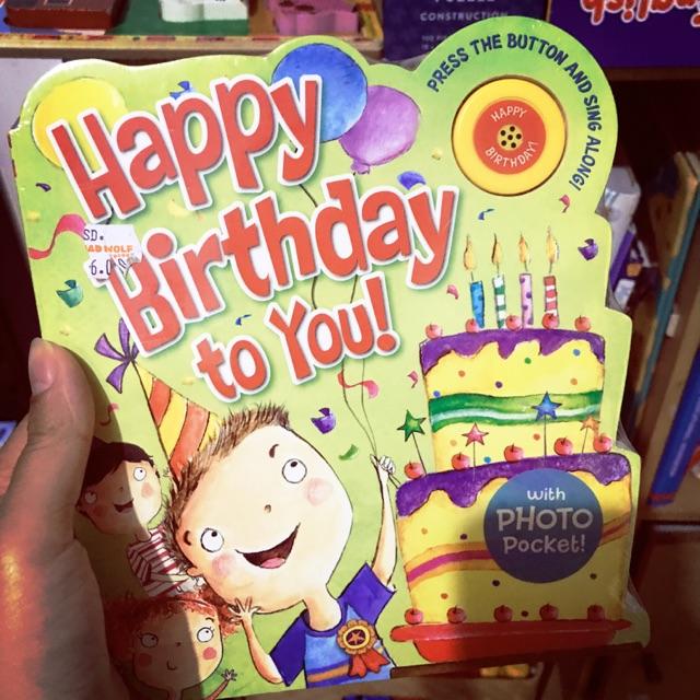 Happy Birthday To You Soundbook Buku Bbw Shopee Indonesia
