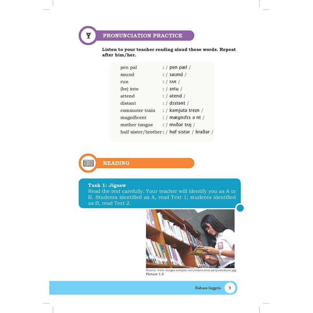 Buku Bahasa Inggris Sma Kelas 10 K13 Revisi 2017