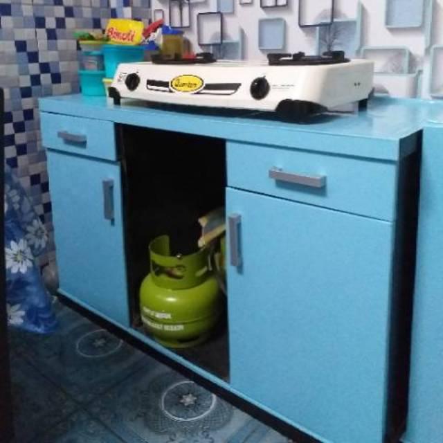 Meja Kompor Meja Dapur Simple 120 Shopee Indonesia