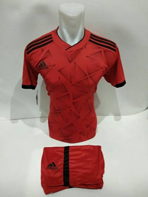 fd9832a5f   NEW AD 08   Baju kaos olahraga jersey bola setelan futsal   volly adidas  motif ...