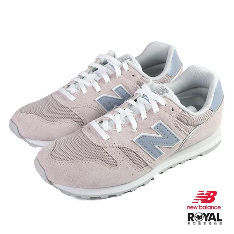New Balance 373 Sepatu Sneakers Casual Bahan Suede Warna Pink Mawar No. J0539