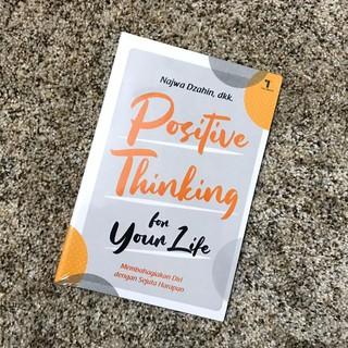 Buku Positive Thinking For Your Life Shopee Indonesia