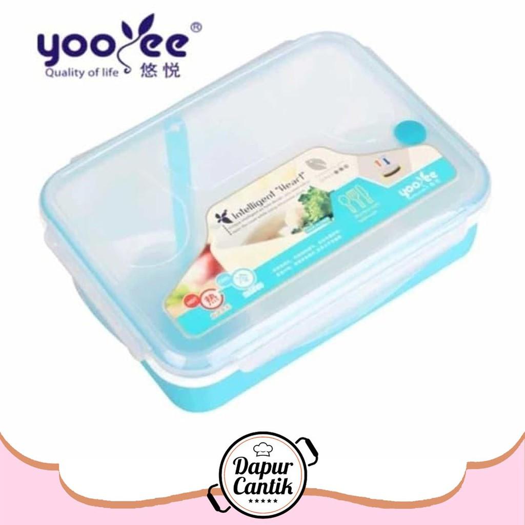 Lunch Box Sekat Yoyee 415 Kotak Makan 4 Tempat Bento Rantang Stainless Kartun Cartoon Hello Kitty Doraemon Single Yooyee Shopee Indonesia