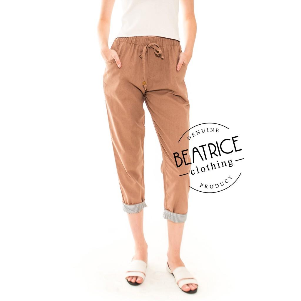Promo Belanja Beatriceclothing Online September 2018 Shopee Indonesia Alila Culottes In Benji Navy Beatrice Clothing