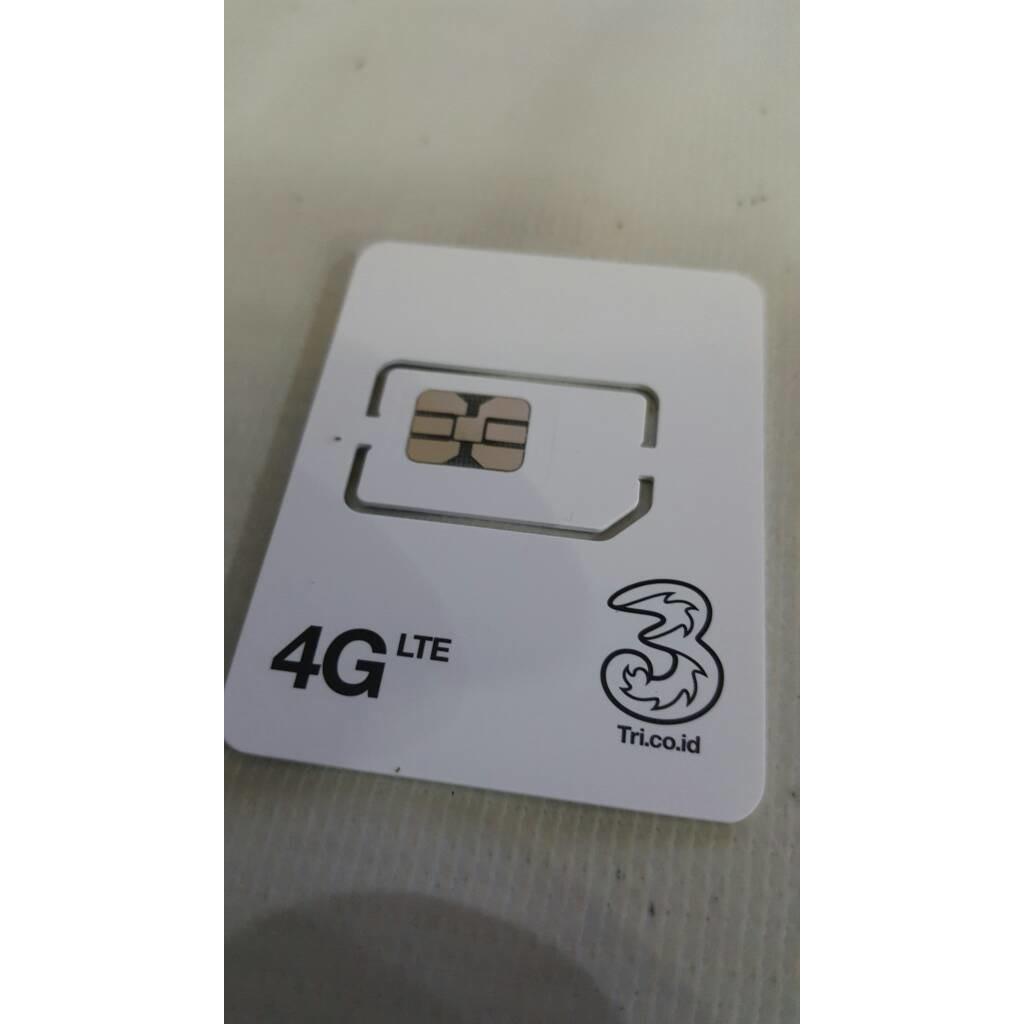 Kartu Perdana Internet Three Tri 3 Unlimited Gb 90 Hari Alter Aon 10gb Reguler Shopee Indonesia