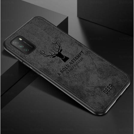 Case Samsung A02s / A12  deer Cloth - Casing Samung A02s A12