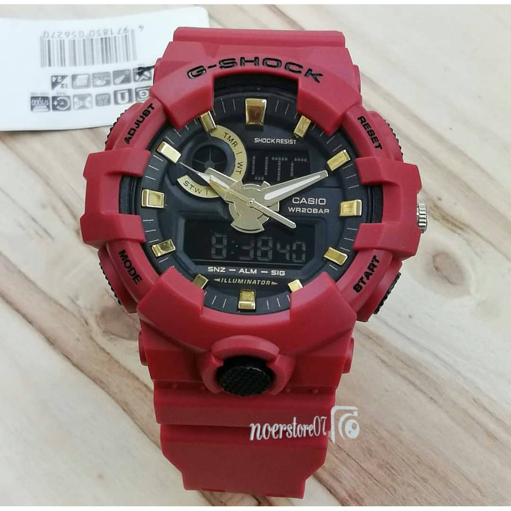 Jam Tangan Sporty Casio G Shock Gwg Hitam Biru Shopee Indonesia Glx 6900 1
