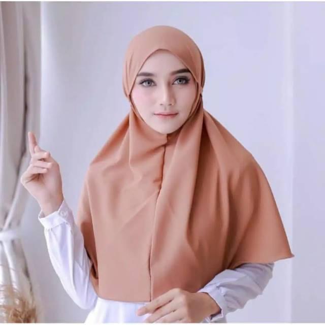 Fafi Bergo Wolfis Maryam Size M Hijab Bergo Tali Hijab Khimar Bergo Makassar Murah Shopee Indonesia