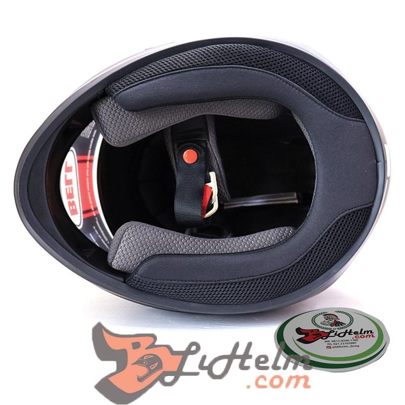 Bell Qualifier Full-Face Motorcycle Helmet Honor Matte Titanium//Black, Medium