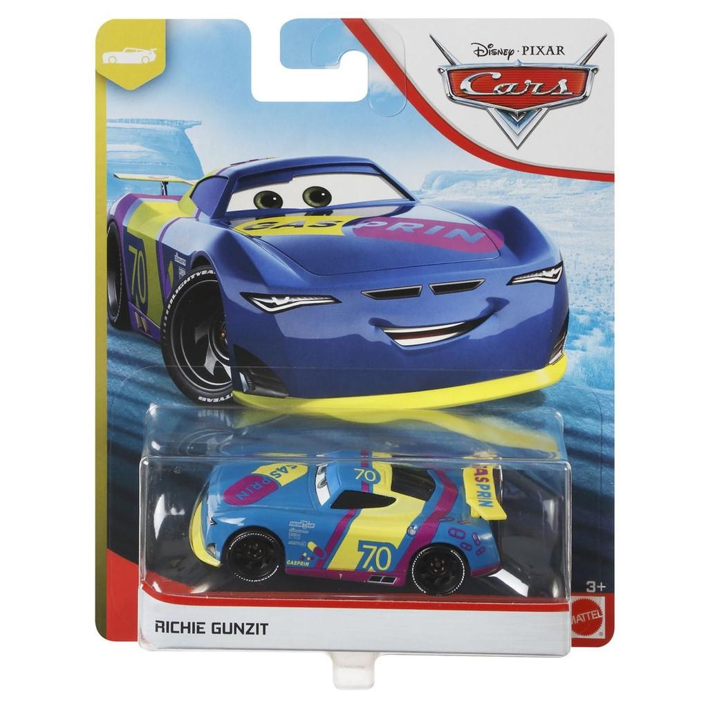 Disney Pixar 2020 Cars 3 Next Gen Piston Cup Racers Richie Gunzit Diecast Shopee Indonesia