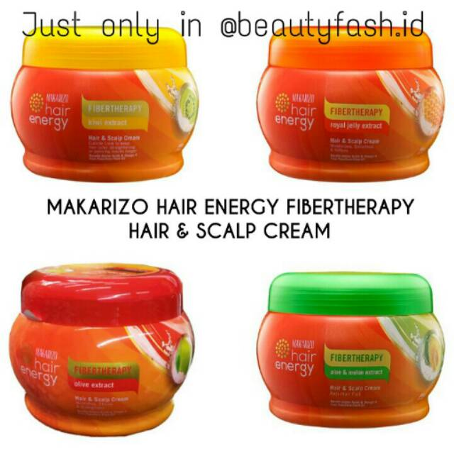 MAKARIZO Hair Energy Hair & Scalp Cream 500 gram Creambath | Shopee Indonesia