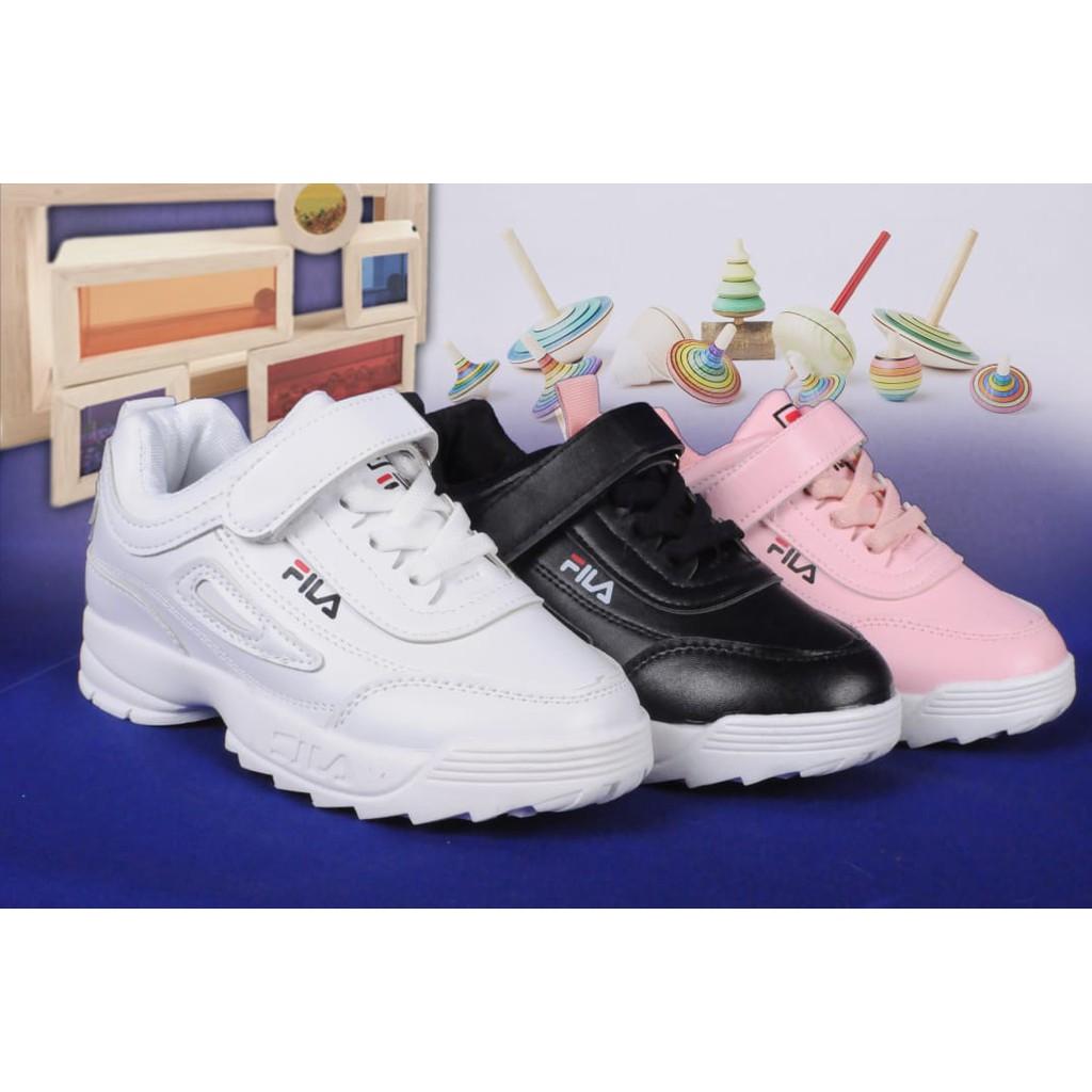 Sepatu Anak Fila 988 6 10 Tahun Shopee Indonesia