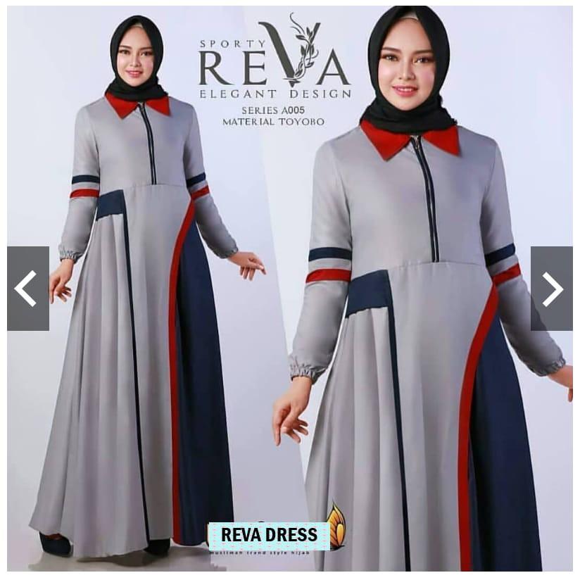 Glossy Dress Gamis Wolfice Gaun Pesta Panjang Baju Hijab Wanita Muslimah  6ef9a6ac31