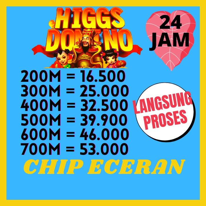 Chip Koin / Coin cip Chips Domino higgs Island Ungu / MD / Biasa / Emas Higg Hig Murah Encer Hoki