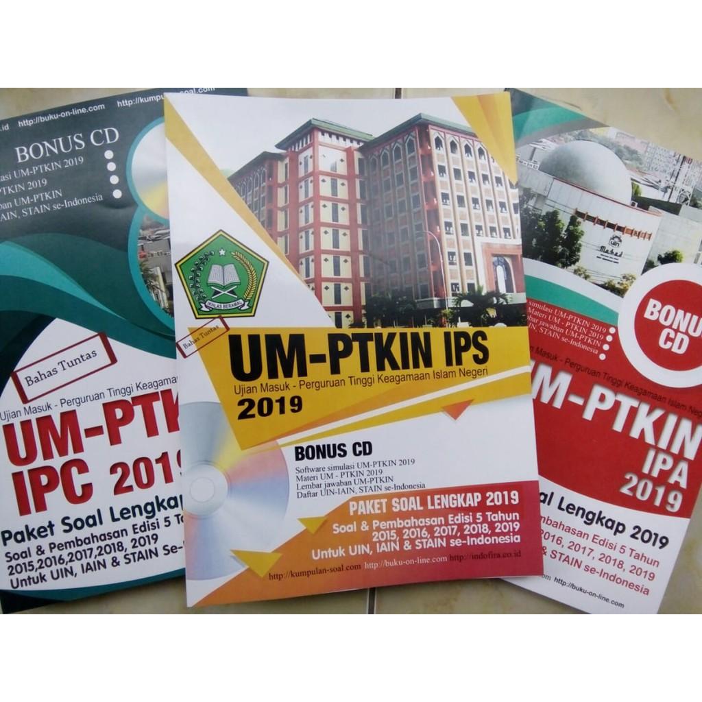 BUKU UMPTKIN 2019 Terlengkap Pembahasan & Ringkasan Materi GRATIS ONGKIR UM  PTKIN IPS, IPA / IPC
