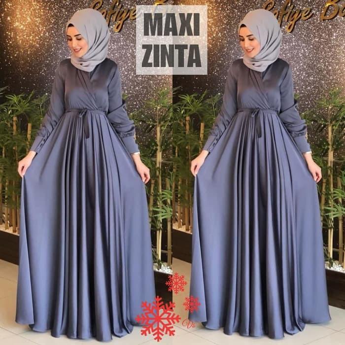 Baju Gamis Wanita Syar I Muslim Tulle Marwah Gamis Modis Wanita Lebaran 2020 Terbaru Sv981 Fashion Shopee Indonesia