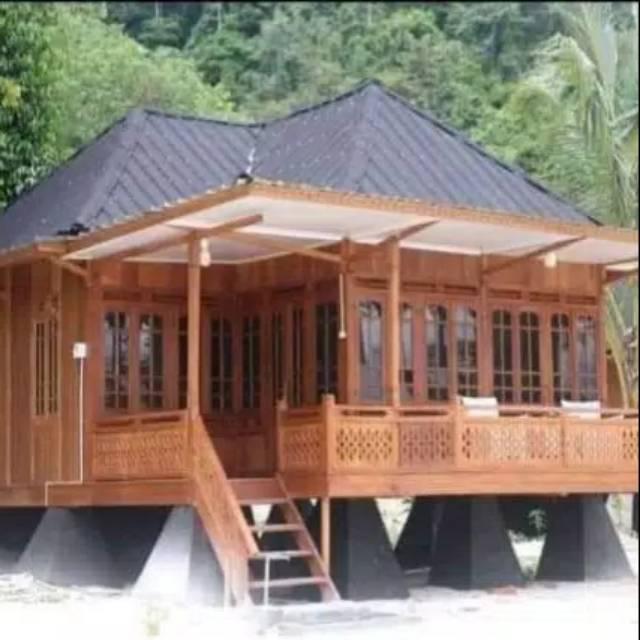 Hasil gambar untuk rumah kayu