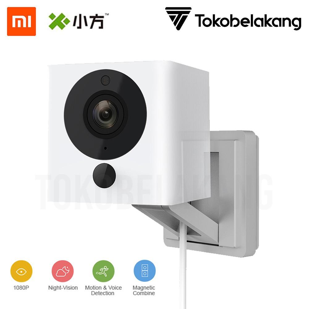 Xiaomi Cctv Xiaofang Smart Wifi Ip Camera Full Hd 1080p Square Box Xiaoyi Yi Dome 1080 International Mmc 16gb White Shopee Indonesia