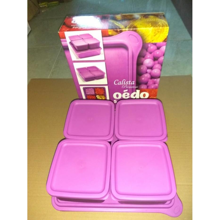 Promo Ans Collections Ready Oedo Calista Kotak Berkualitas Shopee Premium Otaru Sealware Set Of 7 14 Pcs Orange Indonesia