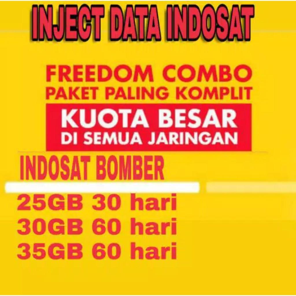 Murah Voucher Indosat Data Kuota Freedom Combo Bomber Im3 Mentari L Shopee Indonesia