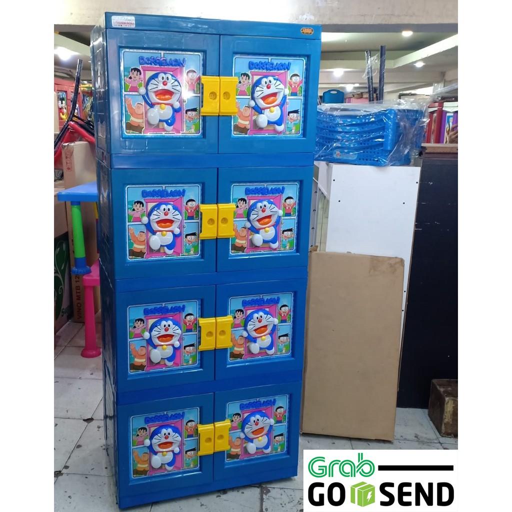Lemari Plastik Naiba 3d 4 Susun Shopee Indonesia