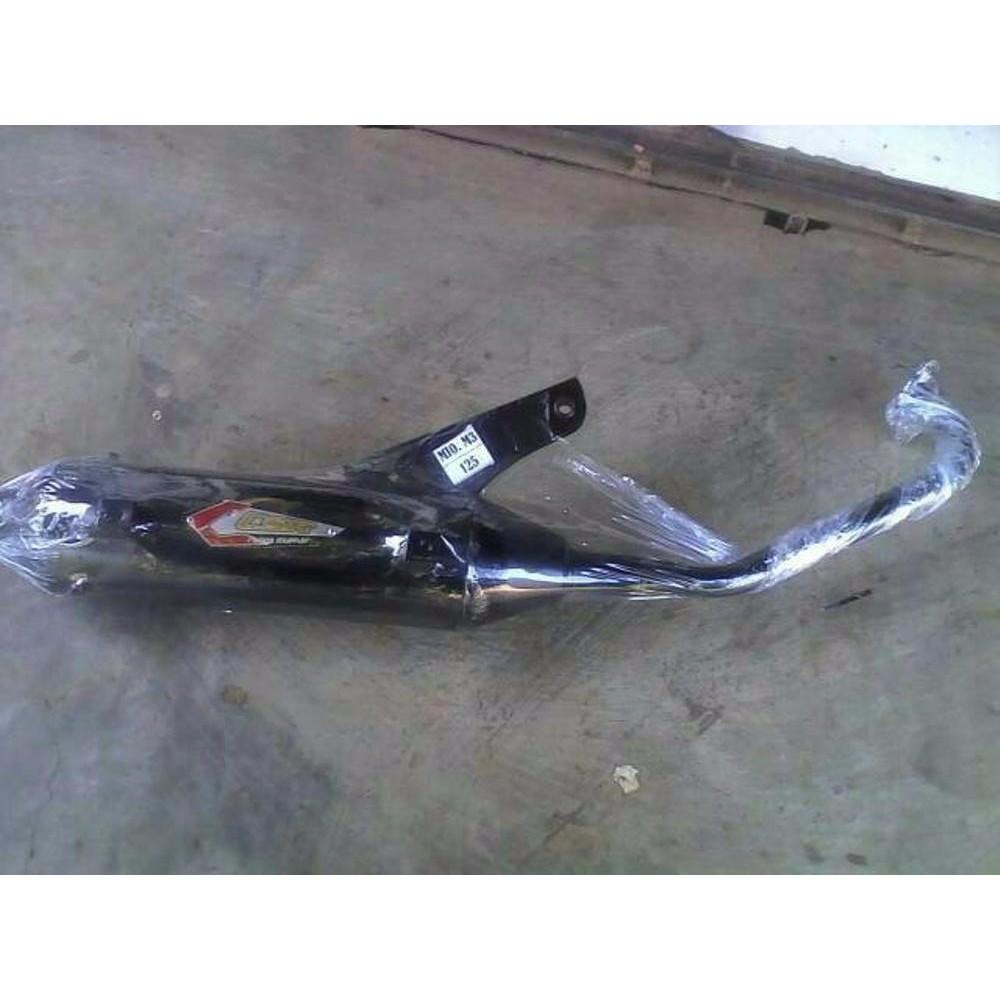 Knalpot Racing Bobokan Model Standar Mio Sporty Shopee Indonesia Matic J Gt Merk Csr