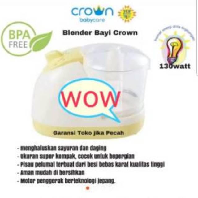 Crown blender bayi hematnenergi
