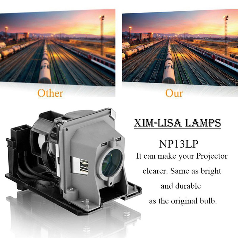 NP215 NP13LP Replacement Lamp for NEC Projectors