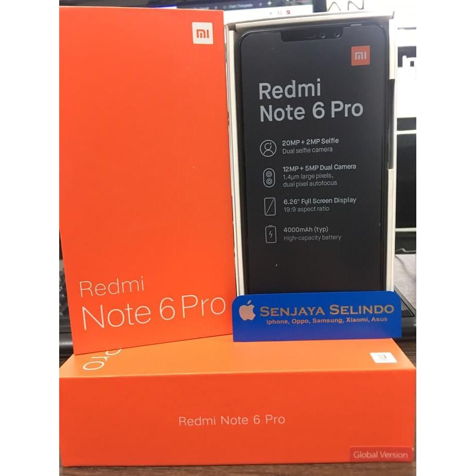 Xiaomi Redmi Note 6 Pro 3 32 Grs Distributor Flash Sale Shopee Mi A2 Lite Global Android One Ram 3gb Internal 32gb Bnib Segel Indonesia