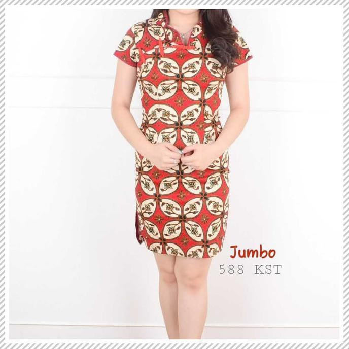 Dapatkan Harga baju murah Batik   Kebaya Dress Atasan Batik Diskon ... 77c8f6d0bc