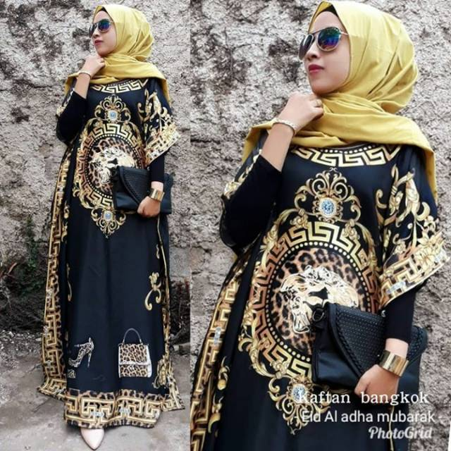 Kaftan Versace Shopee Indonesia