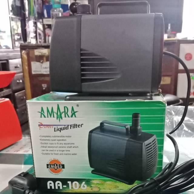 Pompa Aquarium Kolam Amara AA-106 Water Pump Filter ...