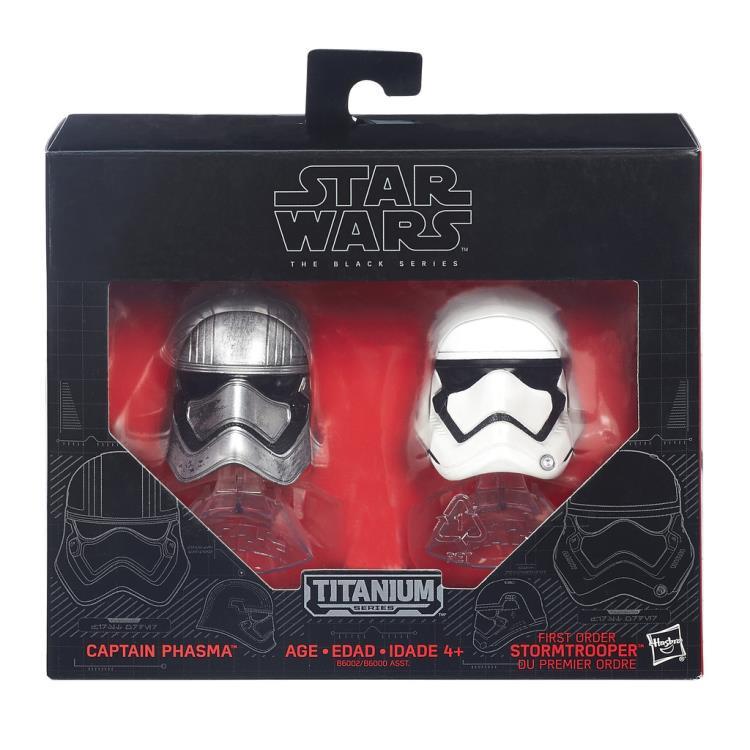 Capitaine Phasma Star Wars Episode 8 Masque de Hasbro