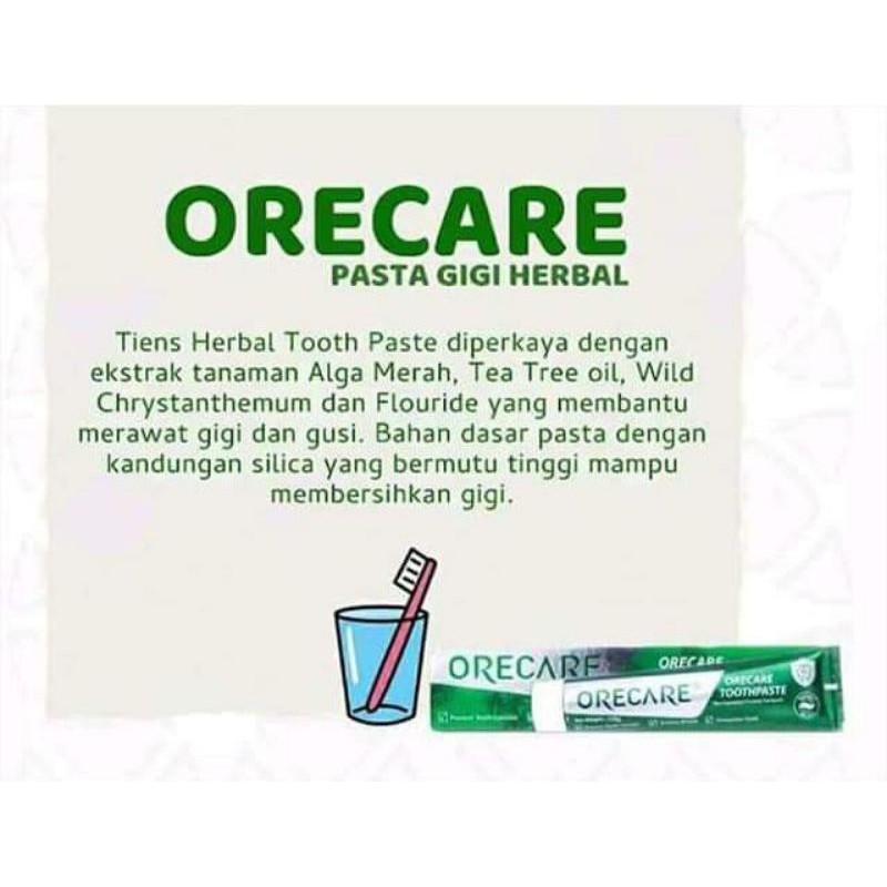 Herbal toothpaste ORECARE TIENS