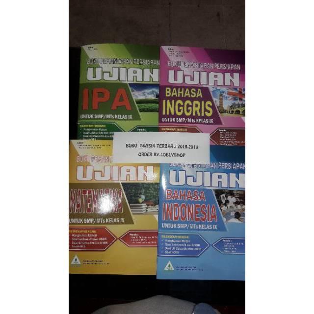 Buku Persiapan Ujian Nasional Unbk Smp Kelas 9 Terbitan Akasia Buku Akasia Shopee Indonesia