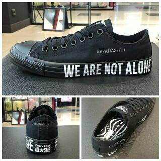 Converse CT AS OX We Are Not Alone Triple Black Original