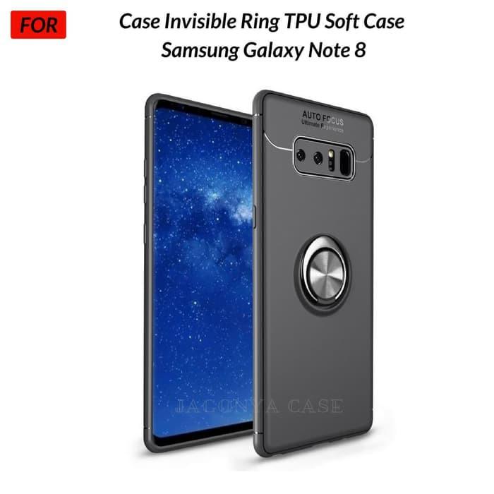 Case Autofocus Invisible Iring Samsung J8 J8 2018 Soft Case - Merah   Shopee Indonesia