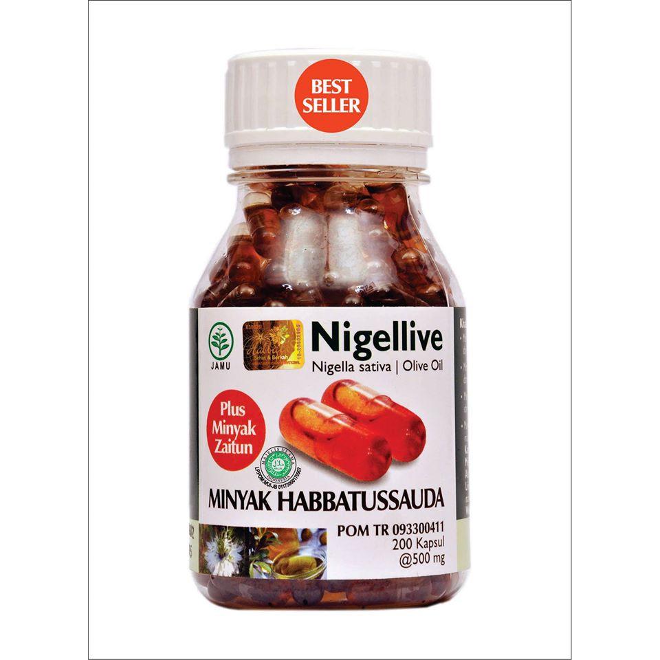 Habbasyifa Minyak Habbatussauda Black Seed Oil 200 Kapsul Shopee Indonesia