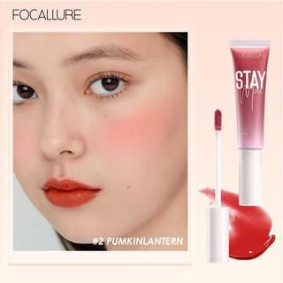 Focallure Staymax Lip Tint Blush On Stick Fungsi Ganda Untuk Melembabkan Bibir thumbnail