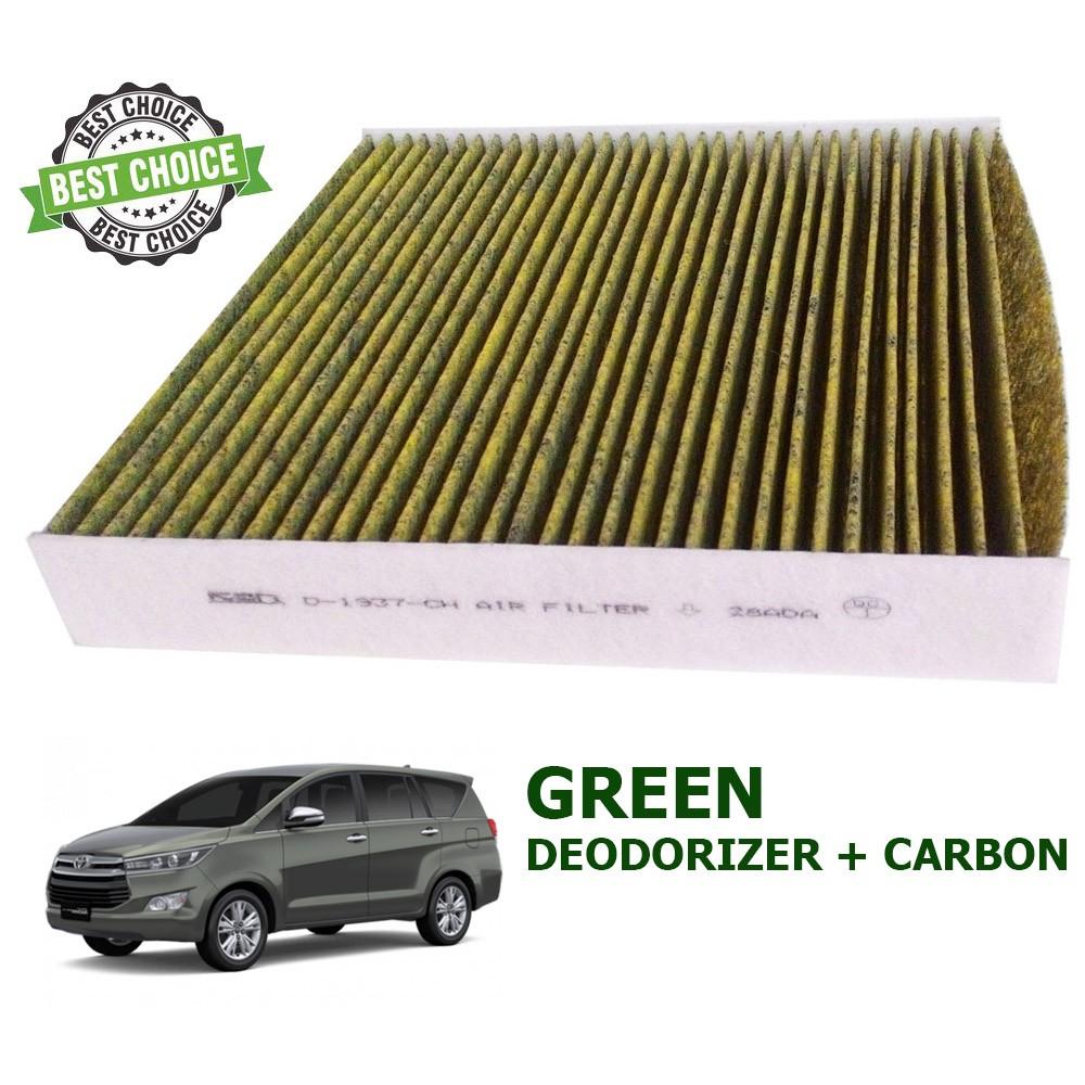 Ken Filter Ac Kabin Toyota Innova Reborn New Karbon Deodorizer Saringan Udara Hijau Shopee Indonesia