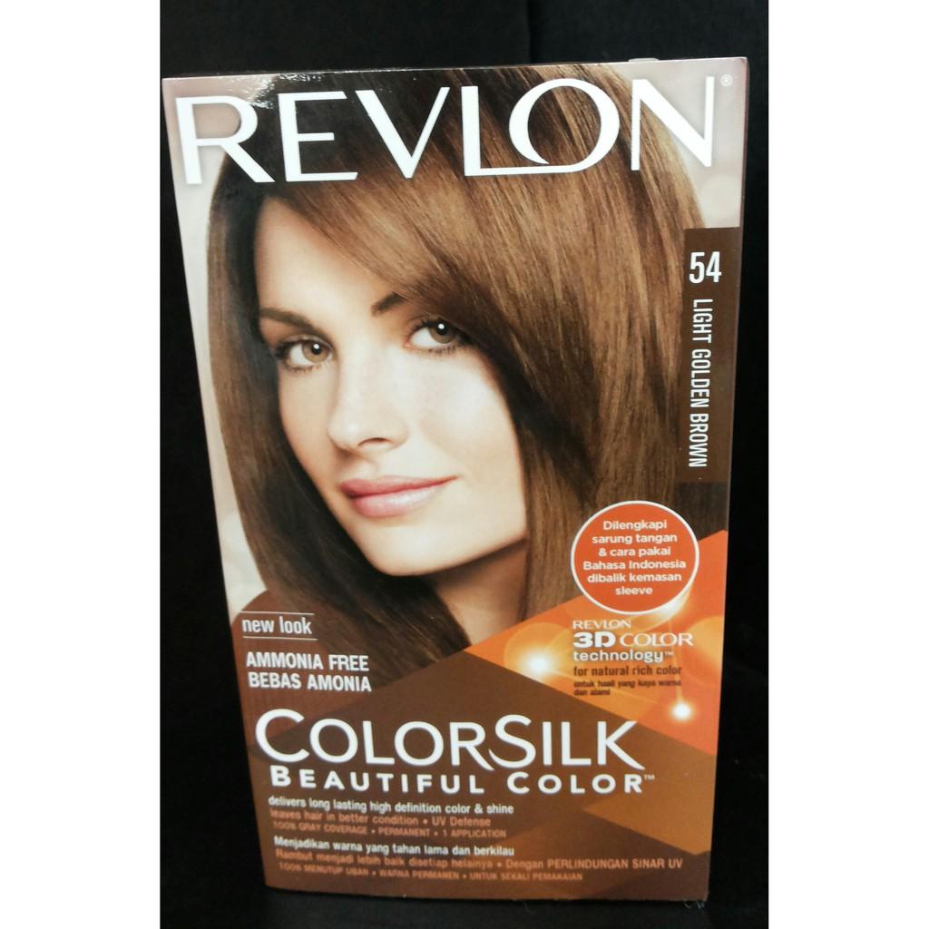 Warna Cat Rambut Revlon Light Golden Brown