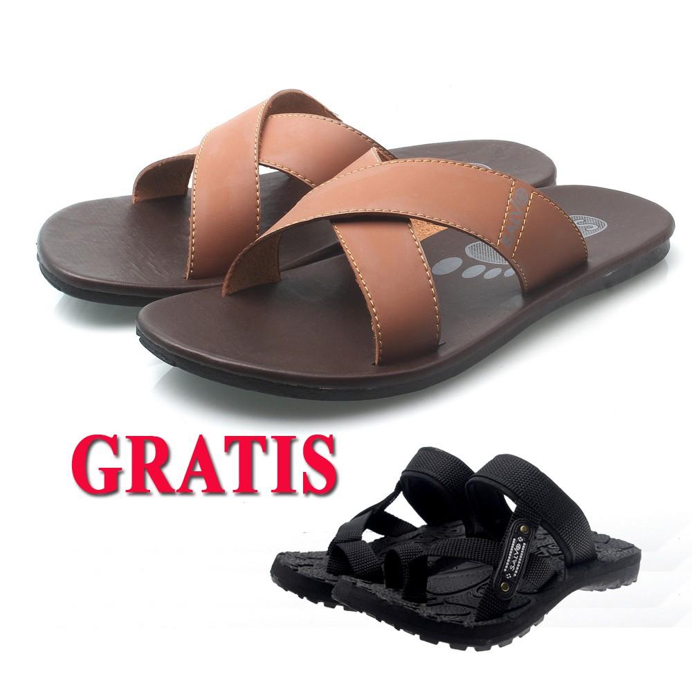 Salvo Sandal Gunung Pria Sg02 Merah Abu Gratis Kasual Ardiles Men Cooldots 42 S01 Putih Shopee Indonesia