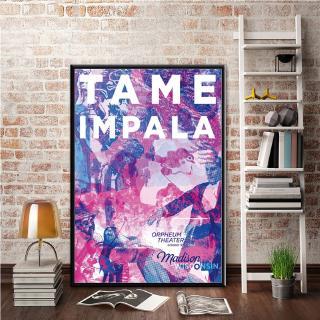 Tame Impala Art Poster Print Room Decor Gift
