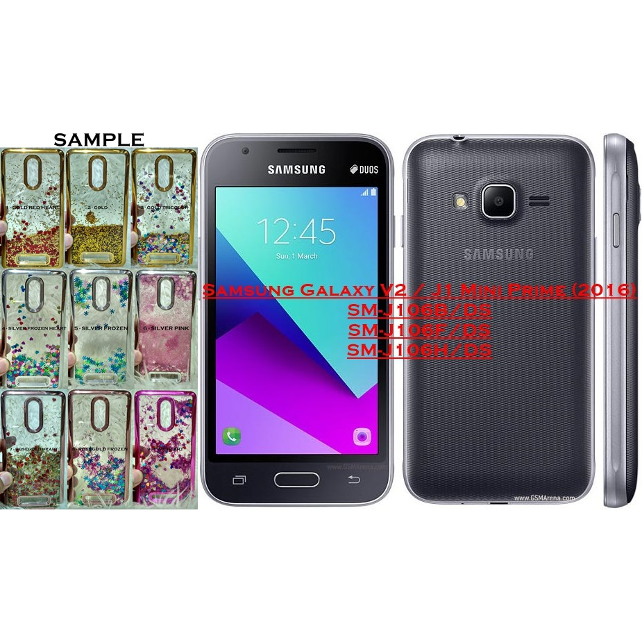 Wgsp Samsung Galaxy V2 J1 Mini Prime J106 Softcase Water Gold Glitter Polos Shining Chrome Shopee Indonesia