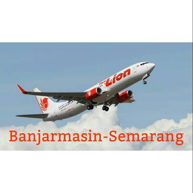 Tiket Pesawat Lion Air Banjarmasin Semarang Shopee Indonesia