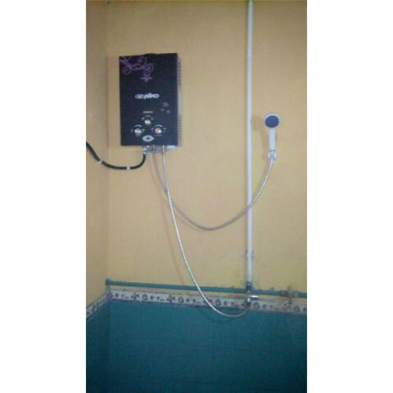 Water Heater Gas Niko 6ld Paket Pasang Ke Rumah