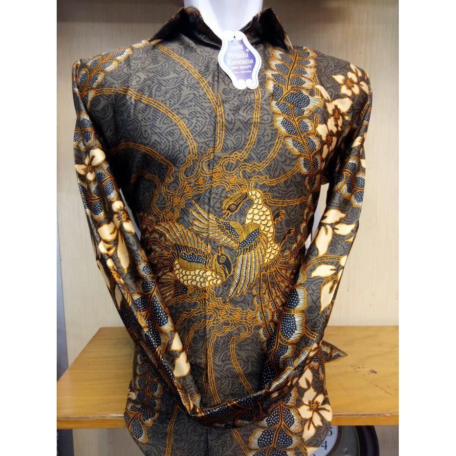 Kain Batik Tulis Premium Best Quality Shopee Indonesia Jayashree Patra Slimfit Short Sleeve Men Hitam S