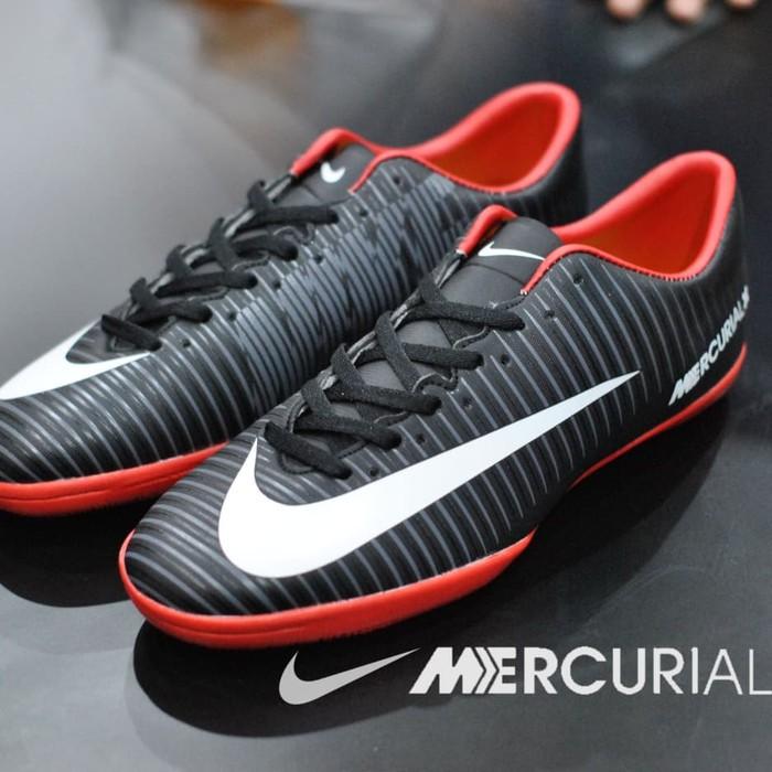 Sepatu Futsal Nike Mercurial Grade Ori Made In Vietnam Black